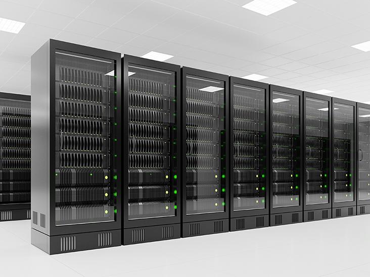 Dark servers in data center